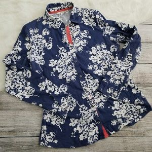 Boden Blossom Floral Button Down